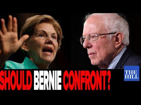 Panel Debates Should Bernie Confront Warren At The Debate