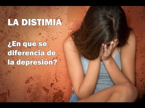 La DISTIMIA: ¿en qué se diferencia de la depresión?