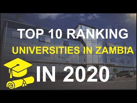Top 10 University Ranking In Zambia -  2020