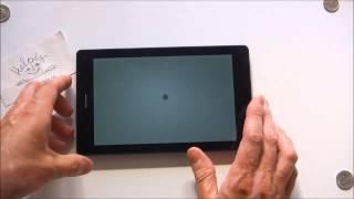 teXet NaviPad TM-7055HD 3G - распаковка, включение, краткий обзор