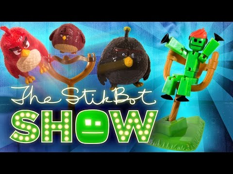 The Stikbot Show 🎬 | The one with The Angry Birds