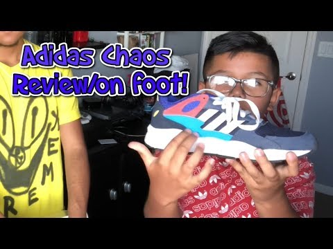MY LITTLE BROTHER REVIEWS THE ADIDAS CHAOS! (BEST BACK TO SCHOOL SHOE FOR KIDS!)