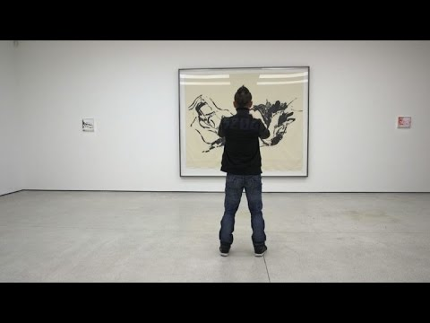 Inauguration de l'expo d'Emin Tracy au Art Basel de Hong Kong