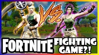 FORTNITE FIGHTING GAME? Default Skin Custom characters in SOUL CALIBUR VI