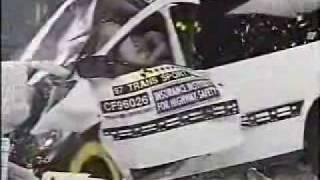 Crash Test 1997 - 2005 Pontiac Trans Sport Montana