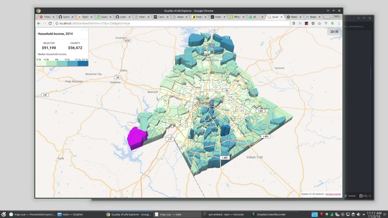 Extruding polygons in Mapbox GL JS 0 26