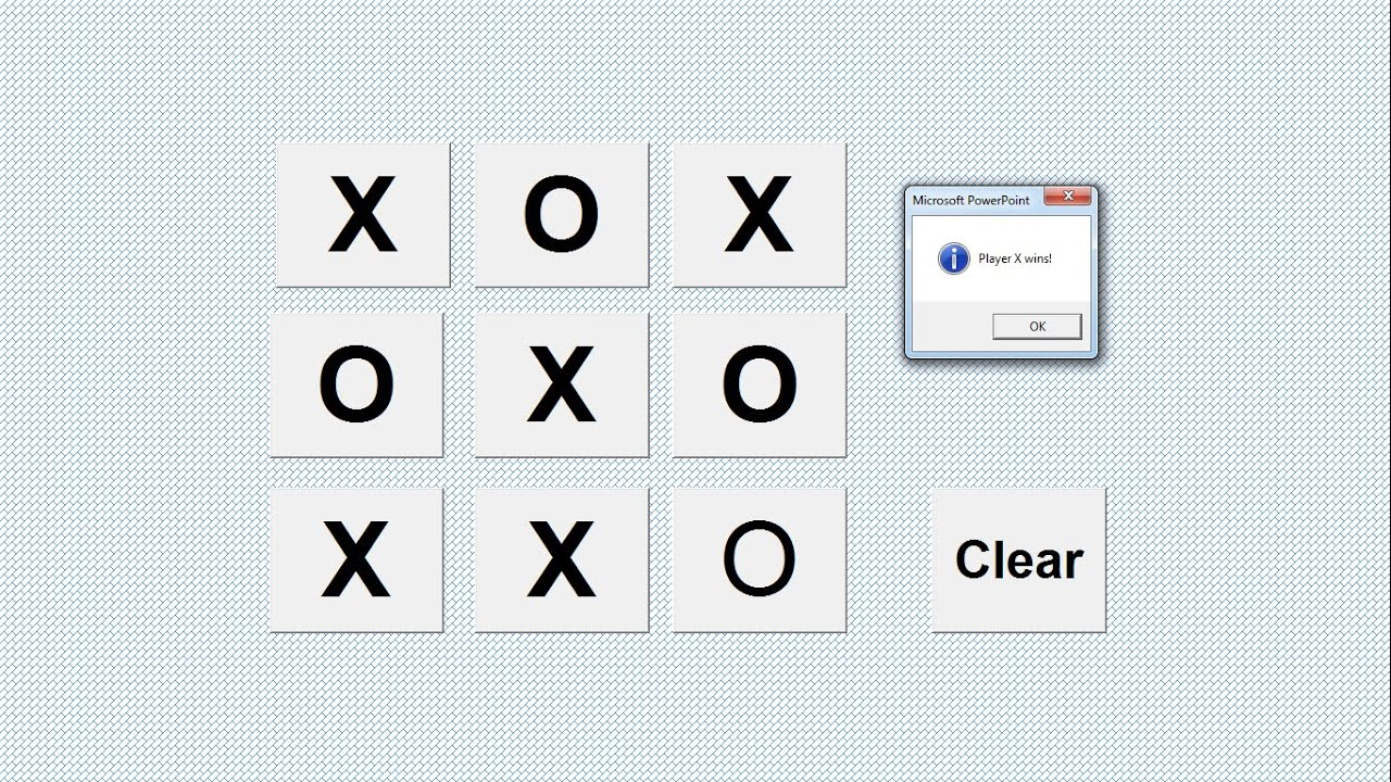 How to Create Tic Tac Toe in PowerPoint