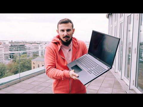Быстрый обзор Asus StudioBook Pro X / Самый Мощный ноутбук в Мире
