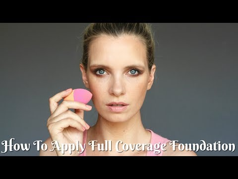 Top Full Coverage Foundation Tips | A Model Recommends