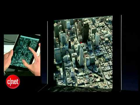 CNET News: Apple launches 3D maps on iOS 6