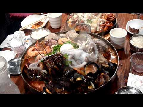 Sik Gaek Korean BBQ - Live Octopus