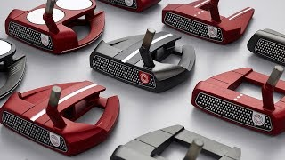 Odyssey O-Works Red & Black Putters