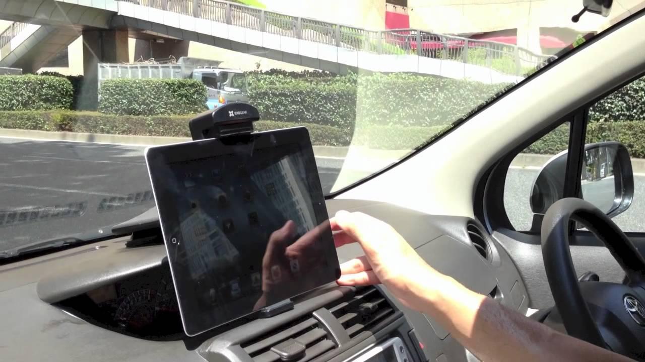 6b29b1931b タブレットダッシュホルダー / iPad を車に固定しよう。 - YouTube