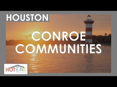 You Have To See These INCREDIBLE New Home Communities In Conroe, TX