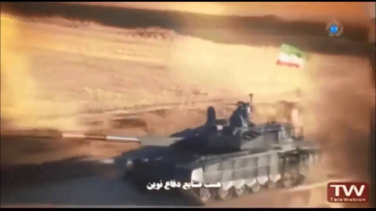 f14d03d39371 New Iranian made Karrar MBT Main Battle Tank unveiled by local television  footage