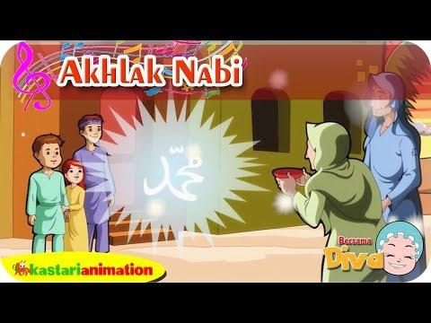 AKHLAK NABI | Lagu Anak Islami bersama Diva | Lagu Nabi Muhammad | Kastari Animation Official
