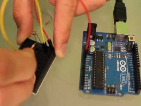 Arduino + Photocell (Light Sensor) + LED