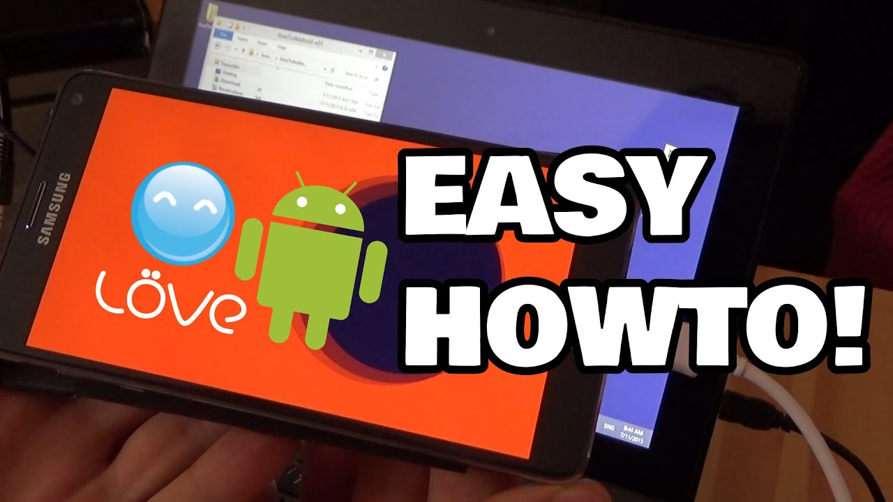 LoveToAndroid Turn LÖVE game into .APK quick & easy  #Smartphone #Android