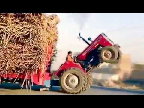 ULTIMATE TRACTOR FAILS 2018 | приколы с тракторами