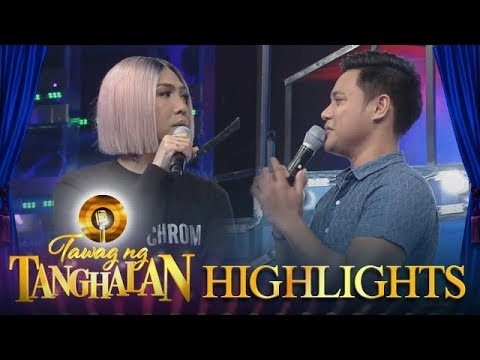 Tawag ng Tanghalan: Daily Contender Reggie has a sweet message to Vice