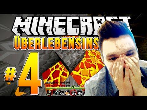 """Minecraft ÜBERLEBENSINSTINKT - Episode #4 - """"GAME OVER?!"""""""