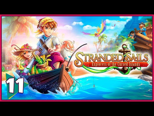 Reunindo todos os Símbolos | Stranded Sails - Explorers of the Cursed Islands #11 [Português PT BR]