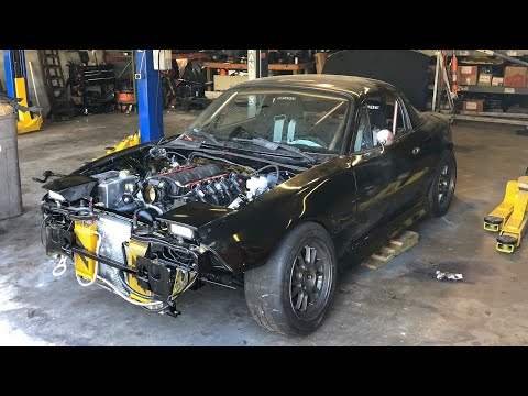 The LS Miata Is Back Together!