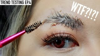 Testing VIRAL FEATHER BROWS Trend!!!