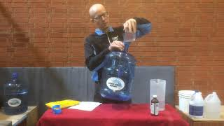 How to Clean and Disinfect Water Jugs