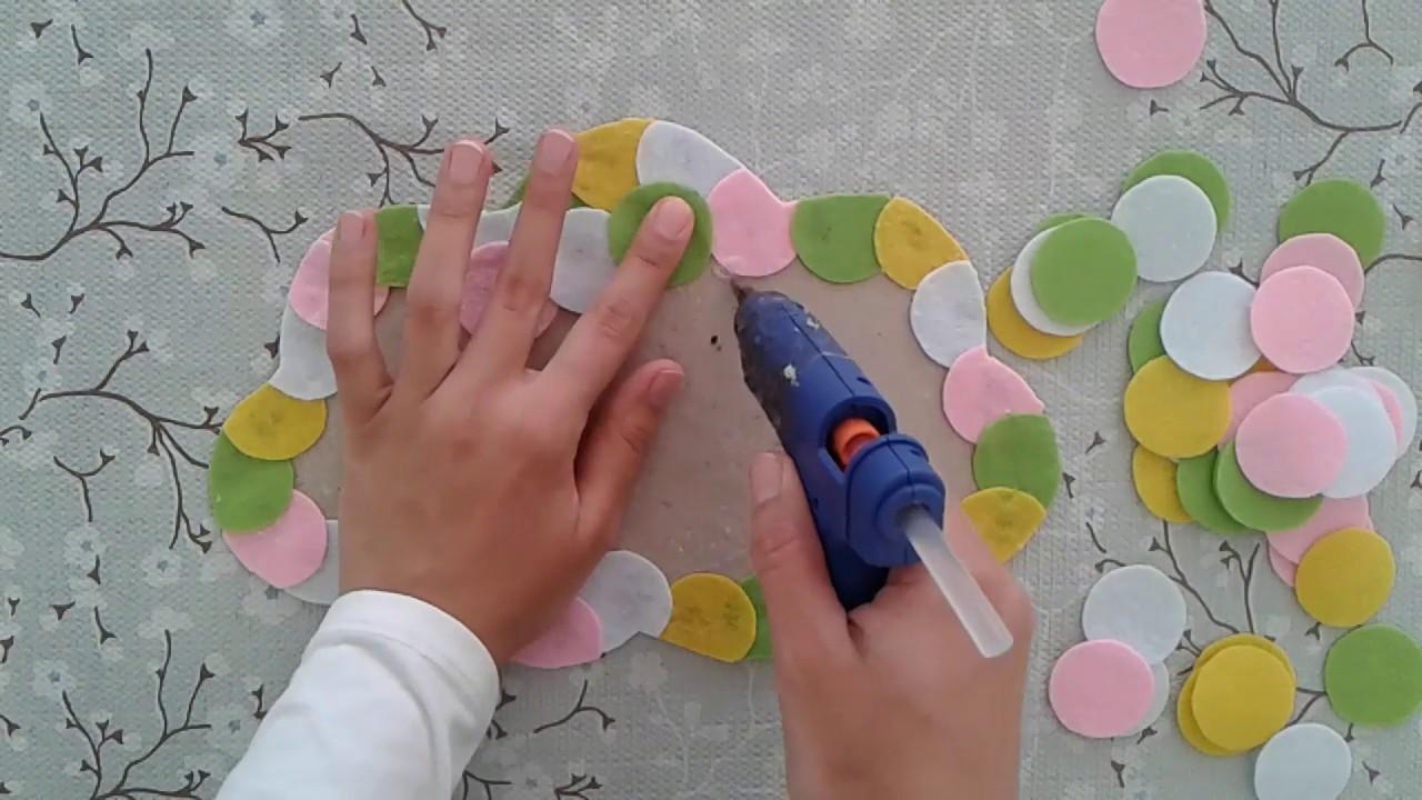 BEBEK KAPI SÜSÜ BALON DEMETİ/ DIY (Kendin Yap) Felt Balloon Home Decor