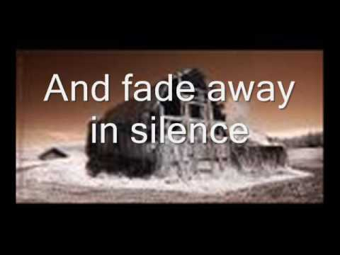 agalloch falling snow with lyrics