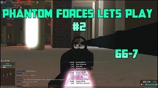 Roblox Phantom Forces permite jugar #2 Going 66-7 con el Honey Badger/RPK-74