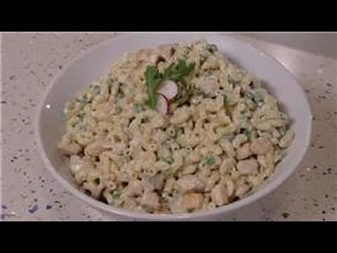 Recipes For Chicken : How to Make Chicken Salad With Mayonnaise, Peas and Chicken