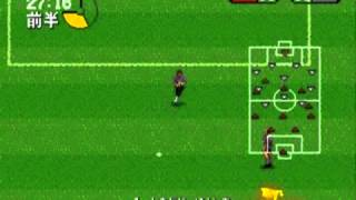 J League PRO Striker 2 Sega Genesis