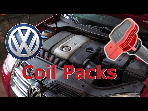 Solve Misfire on 2.5 VW Jetta - Replace Ignition Coil Packs on 2.5 VW Jetta