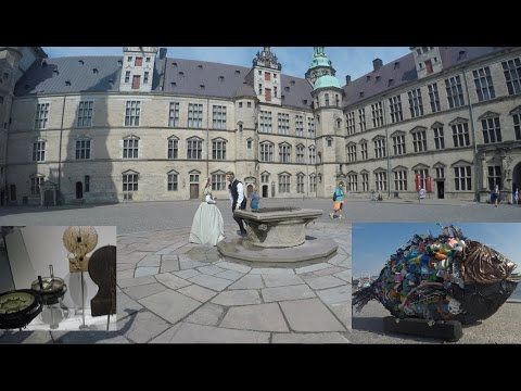 Kronborg Castle and Maritime Museum at Helsingor-UNESCO's World Heritage