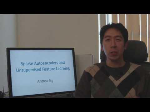 cs294a Sparse Autoencoder Lecture Part 1