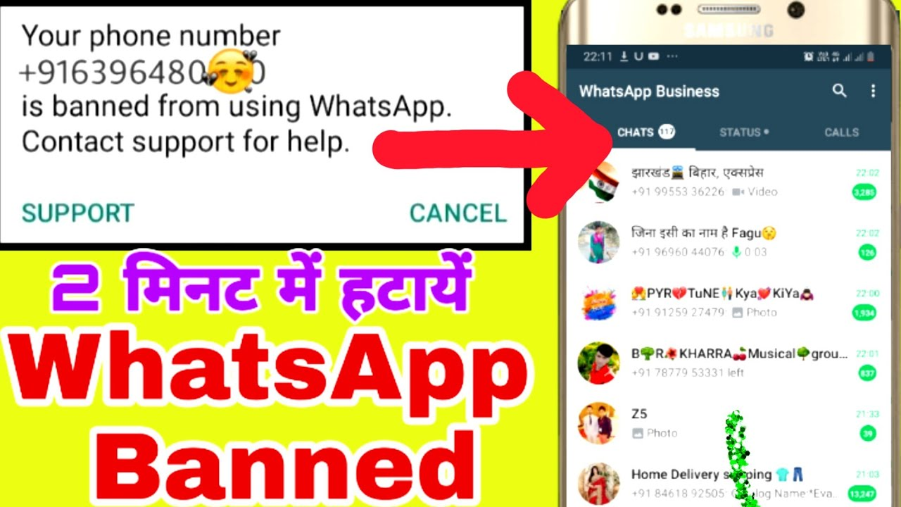 How To Remove Whatsapp Ban My Whatsapp Number Banned Permanently 2020 Solution Ft Lds Youtube