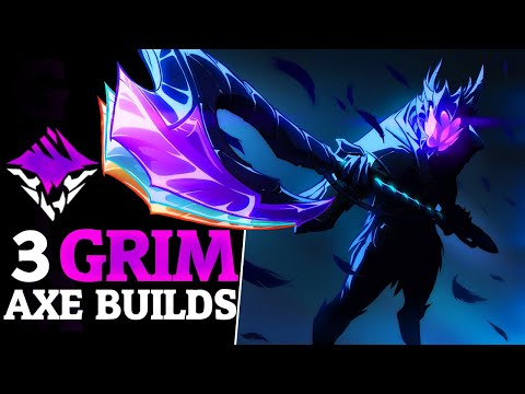 3 Grim Onslaught Axe Builds - Axe DPS Gameplay And Builds - Dauntless Patch 0.8.3