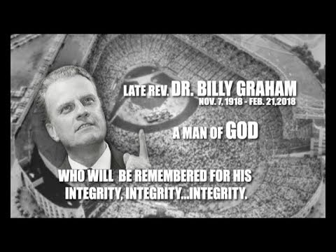 A Tribute to Late. Rev. Dr. Billy Graham by Jesus Calls Ministry