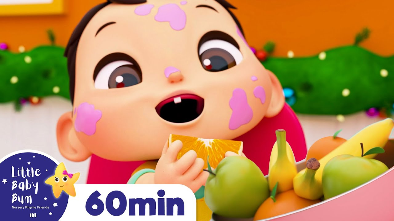 Fruits and Vegetables! Yummy Holiday +More Nursery Rhymes and Kids Songs | Little Baby Bum