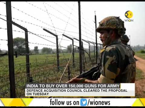 India to buy over 150,000 guns for army