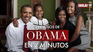Los ocho años de la familia Obama contados en dos minutos