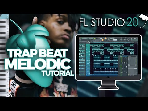 How To Make A MELODIC TRAP BEAT from SCRATCH in FL STUDIO
