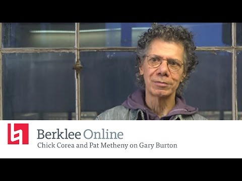 Berklee Online Interview: Chick Corea and Pat Metheny on Gary Burton