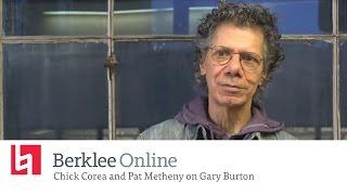 Berklee Online Interview: Chick Corea and Pat Metheny on Gary Burton
