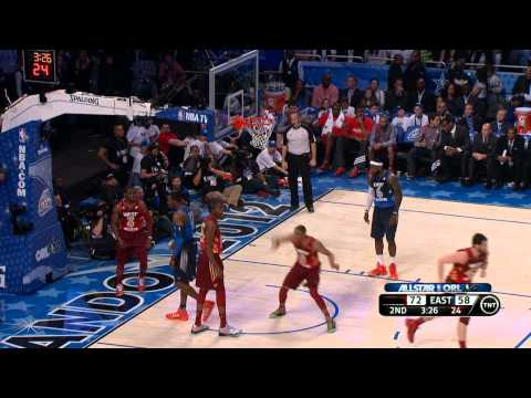 2012 NBA All-Star: Paul to Westbrook