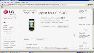 How to Upgrade the Operating System of your LG Mobile Cell Phone