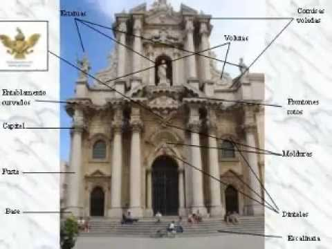 Album digital de estilos arquitectonicos youtube - Elementi architettonici di una chiesa ...