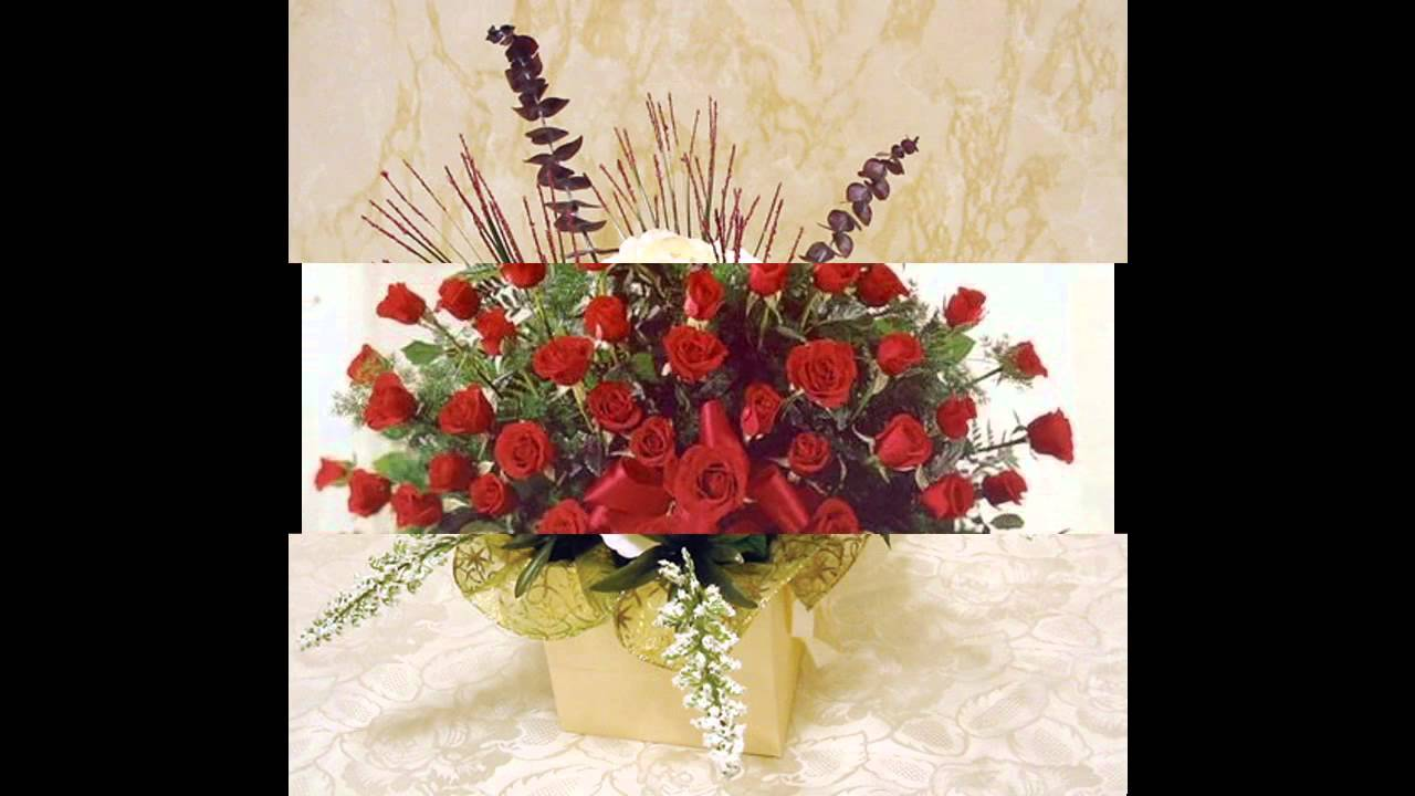 Easy flower arrangement ideas - YouTube